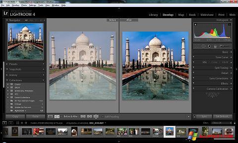 স্ক্রিনশট Adobe Photoshop Lightroom Windows XP