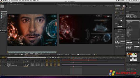 স্ক্রিনশট Adobe After Effects Windows XP