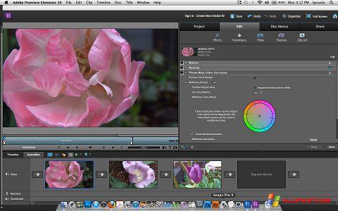 স্ক্রিনশট Adobe Premiere Elements Windows XP