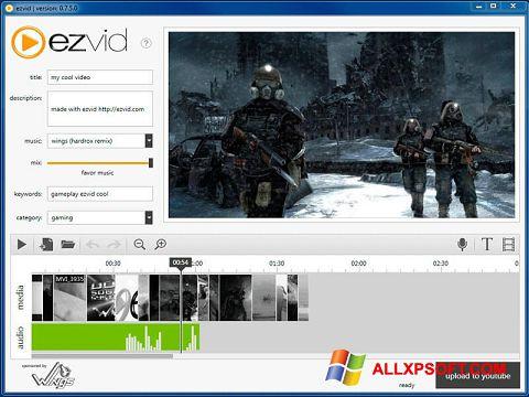 স্ক্রিনশট Ezvid Windows XP