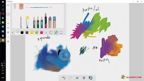 স্ক্রিনশট Fresh Paint Windows XP
