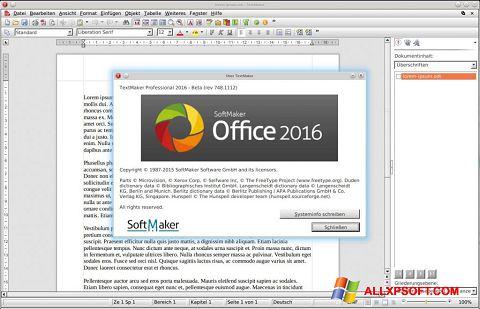স্ক্রিনশট SoftMaker Office Windows XP