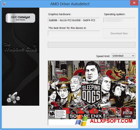 স্ক্রিনশট AMD Driver Autodetect Windows XP