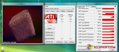 স্ক্রিনশট ATITool Windows XP
