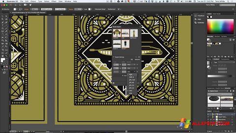 স্ক্রিনশট Adobe Illustrator Windows XP
