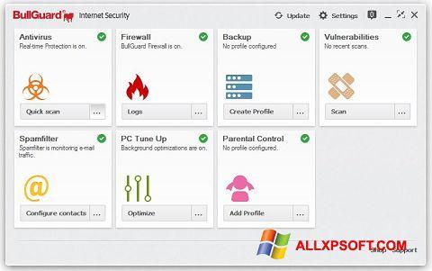 স্ক্রিনশট BullGuard Windows XP
