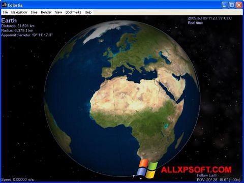 স্ক্রিনশট Celestia Windows XP
