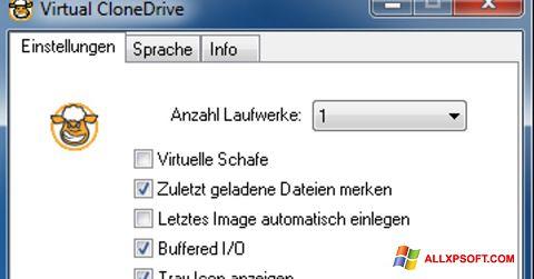 স্ক্রিনশট Virtual CloneDrive Windows XP