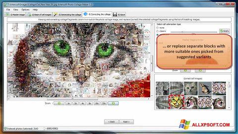 স্ক্রিনশট Photo Collage Maker Windows XP