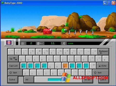 স্ক্রিনশট BabyType Windows XP