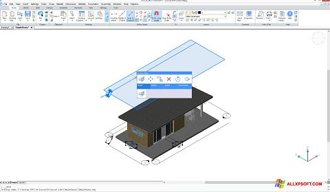 স্ক্রিনশট BricsCAD Windows XP