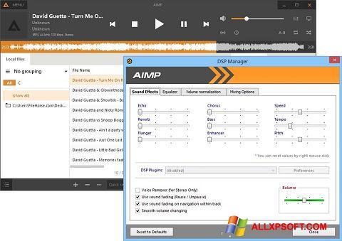 স্ক্রিনশট AIMP Windows XP