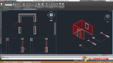 স্ক্রিনশট AutoCAD Architecture Windows XP