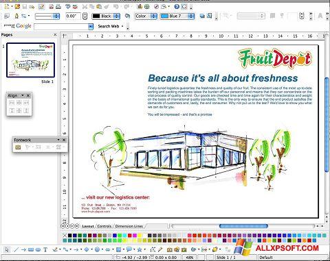 স্ক্রিনশট Apache OpenOffice Windows XP