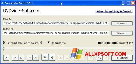স্ক্রিনশট Free Audio Dub Windows XP