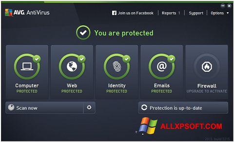 স্ক্রিনশট AVG AntiVirus Pro Windows XP