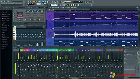 স্ক্রিনশট FL Studio Windows XP