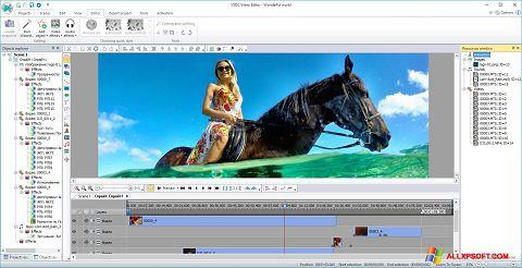 স্ক্রিনশট Free Video Editor Windows XP