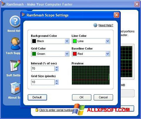স্ক্রিনশট RamSmash Windows XP