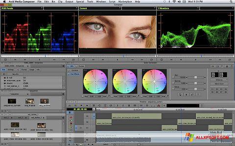 স্ক্রিনশট Avid Media Composer Windows XP