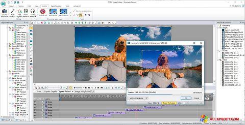 স্ক্রিনশট VSDC Free Video Editor Windows XP