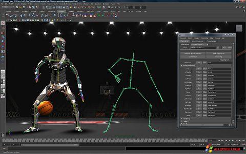 স্ক্রিনশট Autodesk Maya Windows XP
