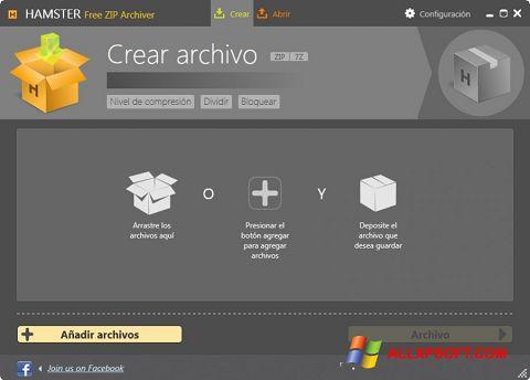 স্ক্রিনশট Hamster Free ZIP Archiver Windows XP