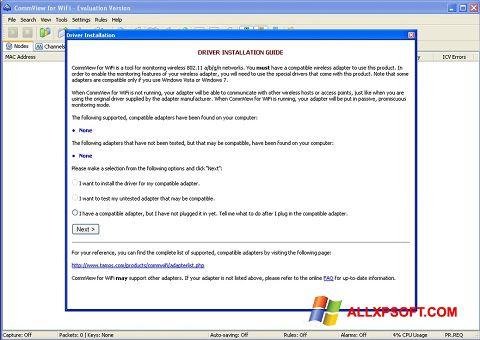 স্ক্রিনশট CommView for WiFi Windows XP