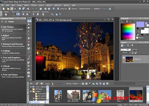 স্ক্রিনশট PaintShop Pro Windows XP
