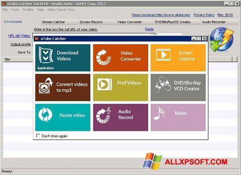 স্ক্রিনশট aTube Catcher Windows XP