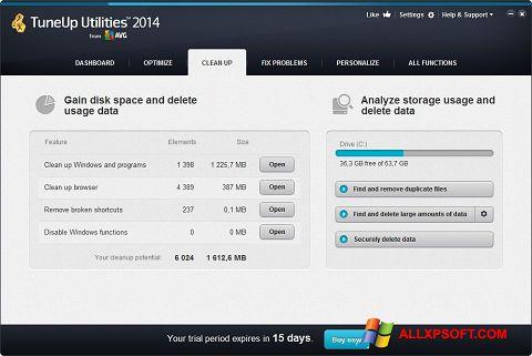 স্ক্রিনশট TuneUp Utilities Windows XP
