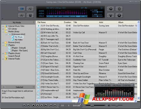স্ক্রিনশট JetAudio Windows XP