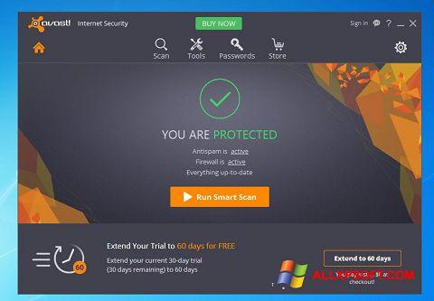 স্ক্রিনশট Avast Internet Security Windows XP