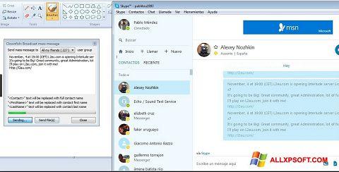 স্ক্রিনশট Clownfish Windows XP