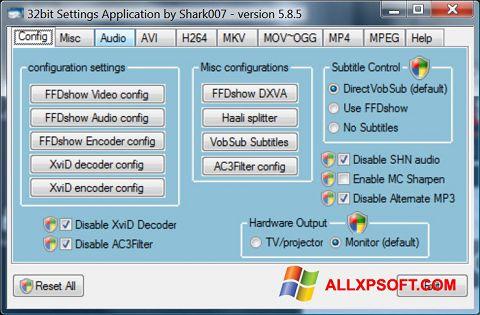 স্ক্রিনশট Vista Codec Package Windows XP