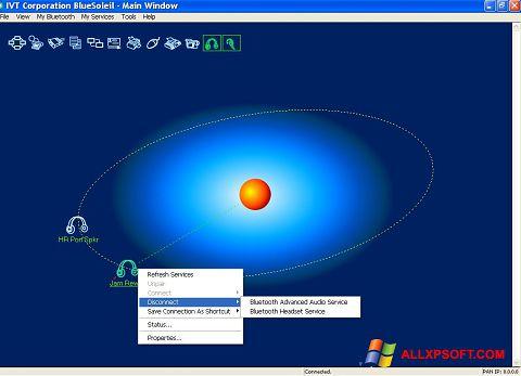স্ক্রিনশট BlueSoleil Windows XP