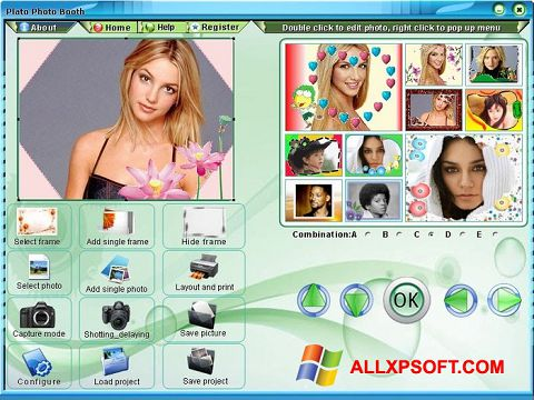 স্ক্রিনশট Photo Booth Windows XP