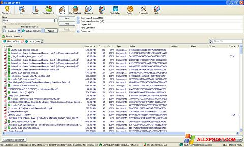 স্ক্রিনশট eMule Windows XP