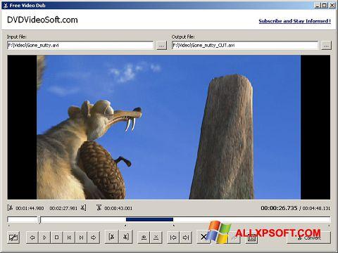 স্ক্রিনশট Free Video Dub Windows XP