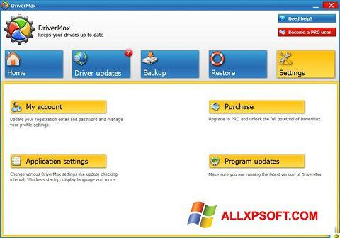 স্ক্রিনশট DriverMax Windows XP