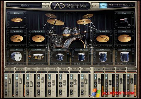 স্ক্রিনশট Addictive Drums Windows XP