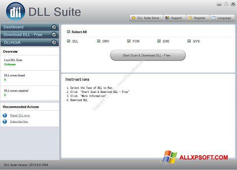 স্ক্রিনশট DLL Suite Windows XP
