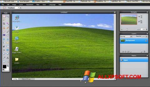 স্ক্রিনশট LightShot Windows XP