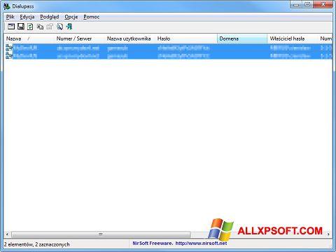 স্ক্রিনশট Dialupass Windows XP