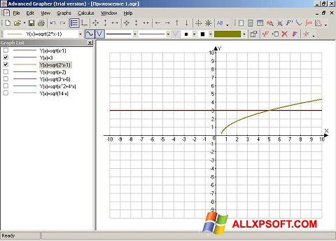 স্ক্রিনশট Advanced Grapher Windows XP