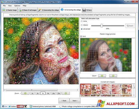 স্ক্রিনশট Photo Collage Windows XP