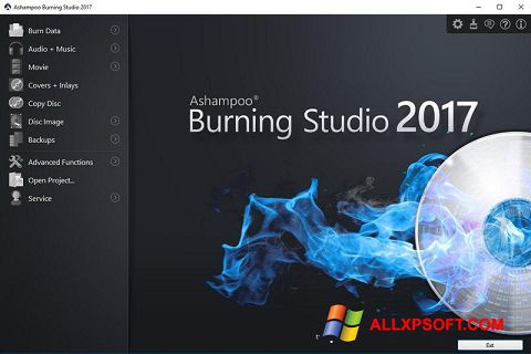 স্ক্রিনশট Ashampoo Burning Studio Windows XP