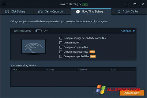 স্ক্রিনশট Smart Defrag Windows XP