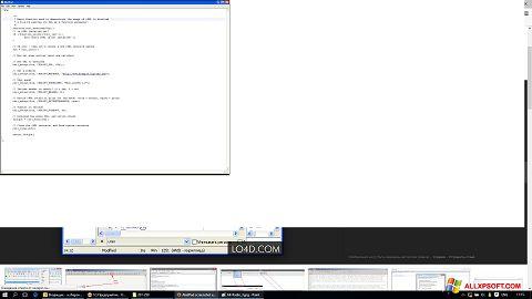 স্ক্রিনশট AkelPad Windows XP